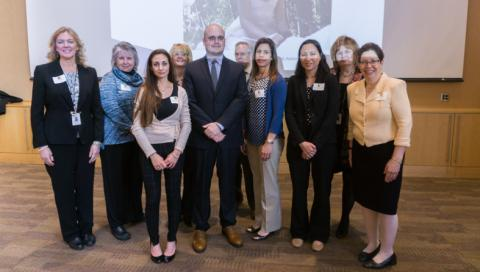 The Autism Insurance Resource Center honored four individuals at its Celebration of Champions event May 5.