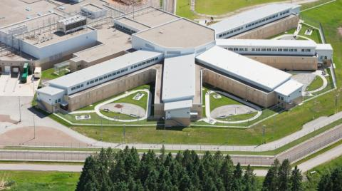 Exterior of a prison