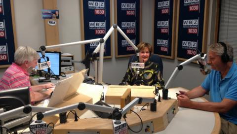 "Joyce A. Murphy on WBZ Nightside: ""I'd like every company to be open about learning about mental illness."""