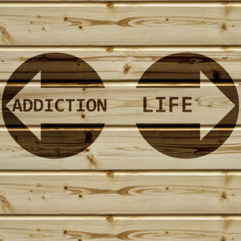 Addiction graphic