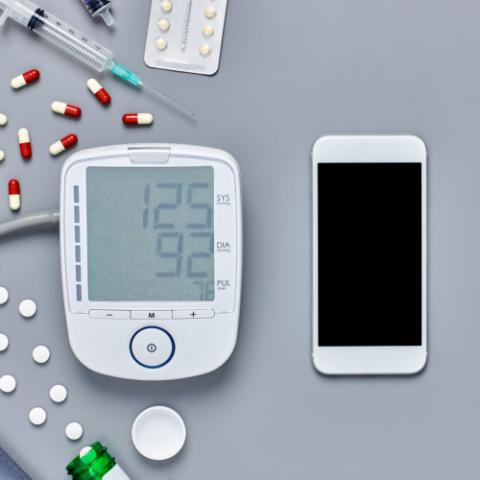 Mobile app and blood pressure