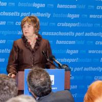 Joyce Murphy speaks at launch of NAMI Massachusetts
