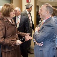 Joyce Murphy and Beacon Health Options CEO Tim Murphy