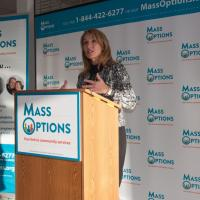 Lt. Gov. Karyn Polito announces MassOptions