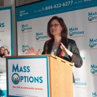 Secretary of Elder Affairs Alice Bonner discusses MassOptions