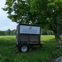 community harvest project sign