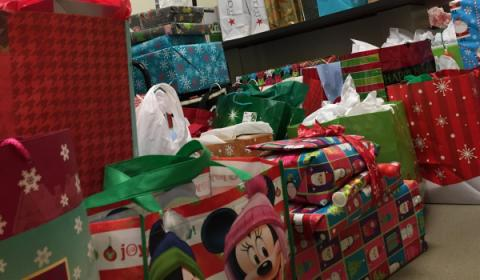 UMass Medical School employee provided holiday gifts