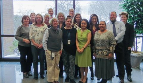 UHealthSolutions employees were honored for their years of service at the organization's 15th anniversary celebration