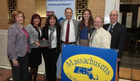 UMass Medical School disability program honored at State House