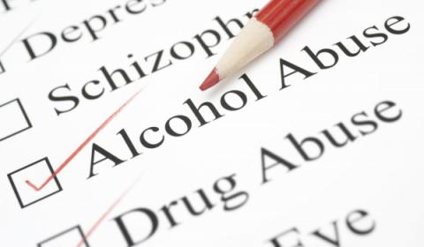Alcohol and drug abuse check list