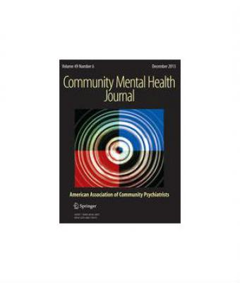 Cover of Community Mental Health Journal
