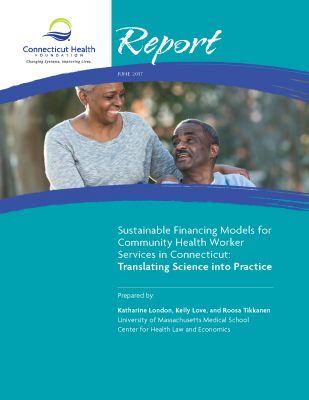 Cover of community health worker report