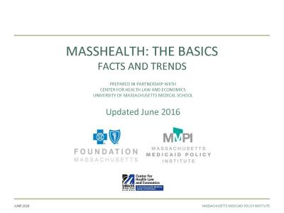 Cover of Updated MassHealth: The Bascis
