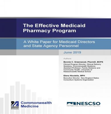 Cover page of the pharmacy white paper