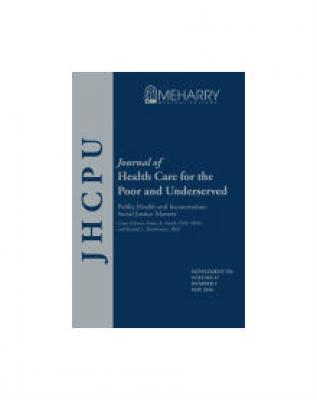 Journal of Health Care for the Poor and Underserved cover