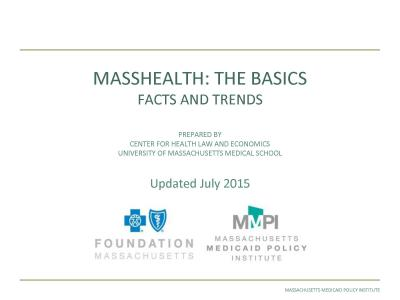 MassHealth: The Basics - Facts and Trends