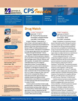 Cover of The Clinical Pharmacy Services Insider 2011