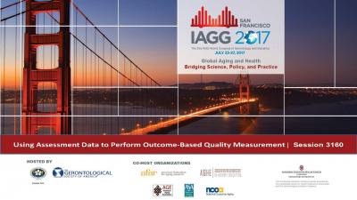 Using Assessment Data to Perform Outcome-Based Quality Measurement Poster