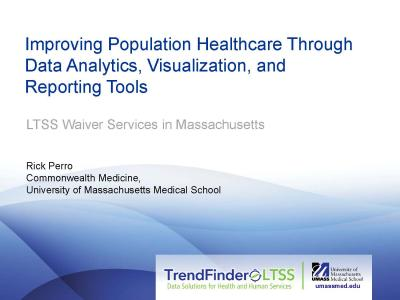 Cover of Improving Population Healthcare Through Data Analytics, Visualization, and Reporting Tools