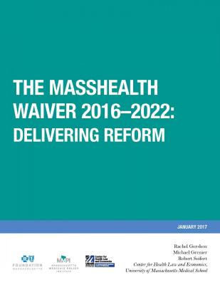 Cover of MassHealth waiver report