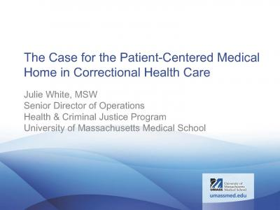 Cover of PCMH presentation