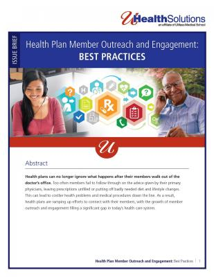 Cover page of best practices white paper