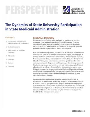 Cover of issue brief