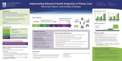 Image of Implementing Behavioral Health Integration in Primary Care poster