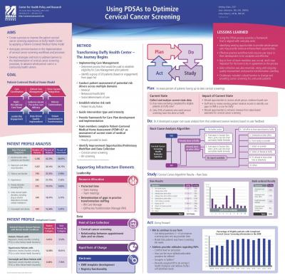 Using PDSAs to Optimize Surgical Screening