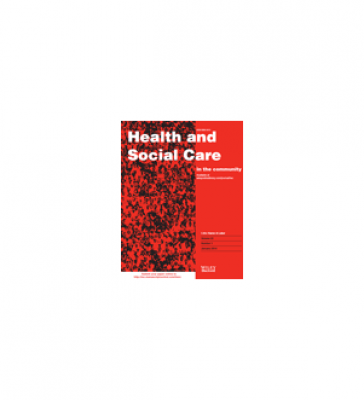 Cover of Health and Social Care