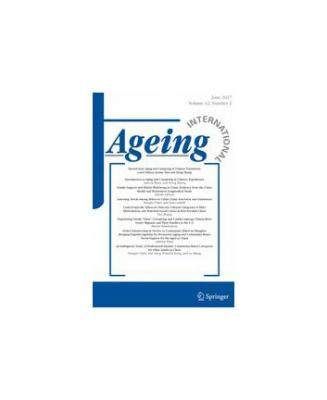 Ageing International journal cover