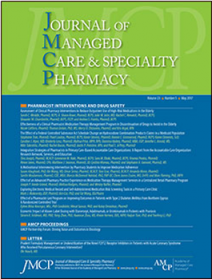 Journal of Managed Care and Specialty Pharmacy Cover Image