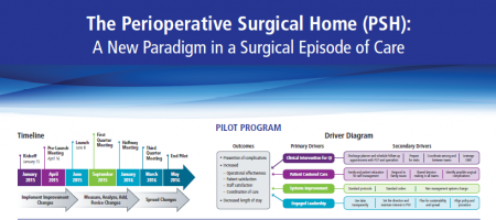 Perioperative Surgical Home chart